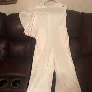Other - White Jumpsuit (purchased from China)